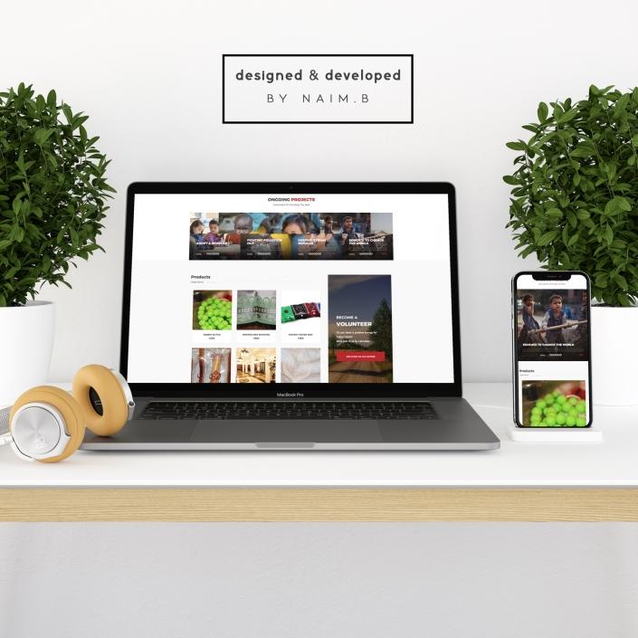 Tokyo Camii Charity Shop website