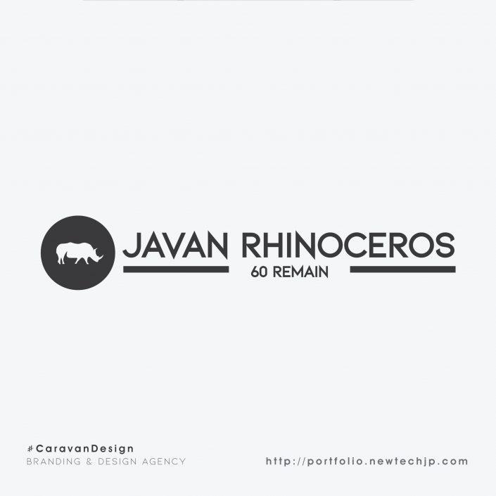 Javan Rhino Dark Logo