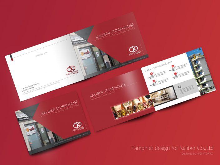 Kaliber Brochure Red Base Color