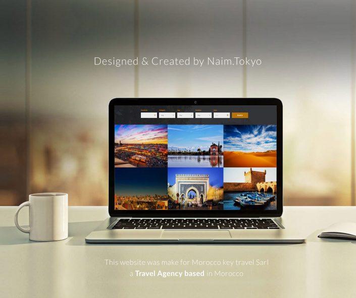 Morocco Key Travel Web Design