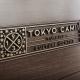 Tokyo Camii Logo Wooden Window Ad