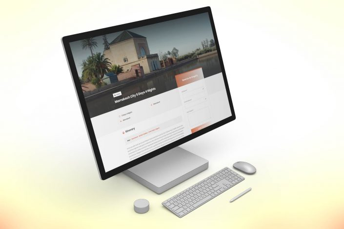 Moroccan Family Tours & Excursions - Morocco Travel Agency Web Design