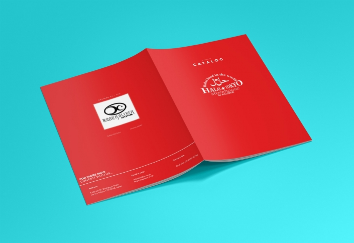 Kaliber Co., Ltd. Catalog Design Front & Back Cover
