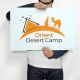 Logo Design Orient Desert Camp