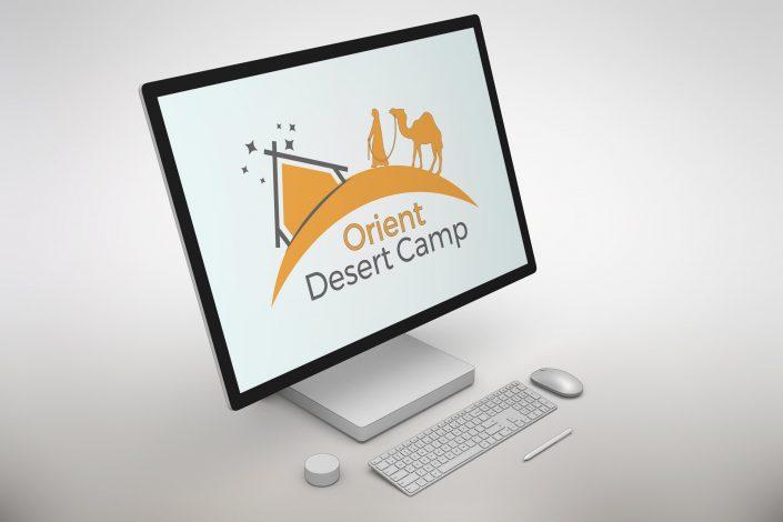 Logo Design Orient Desert Camp